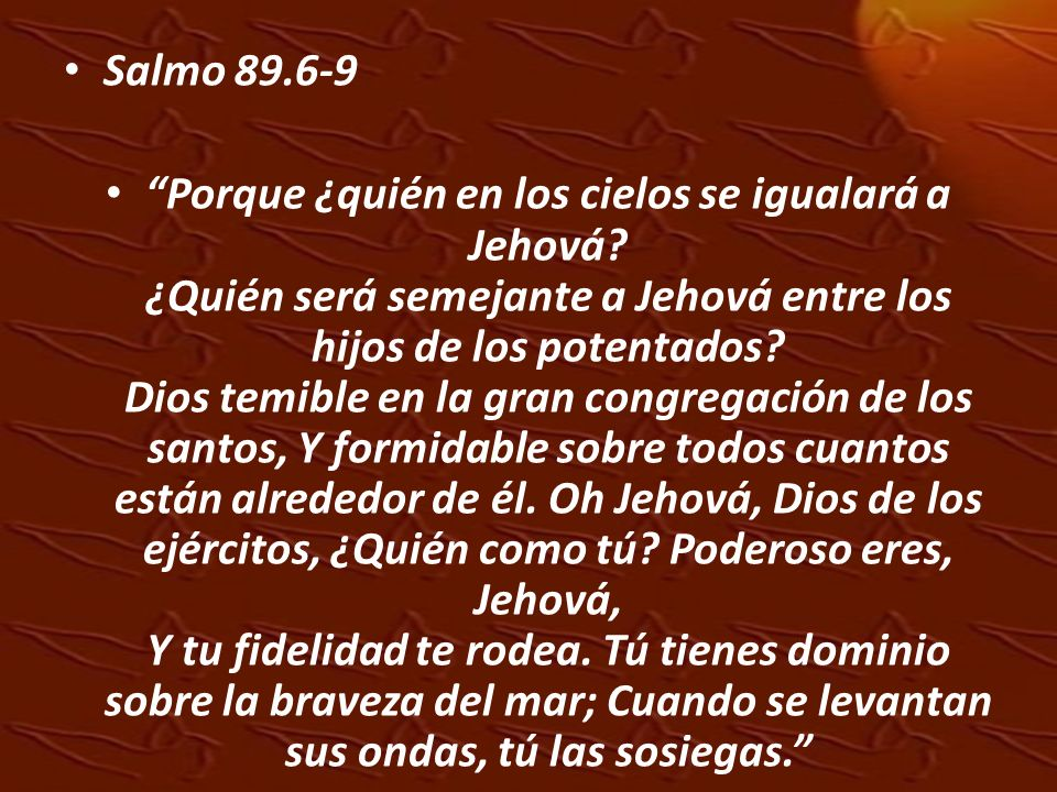 Salmo 89.6-9