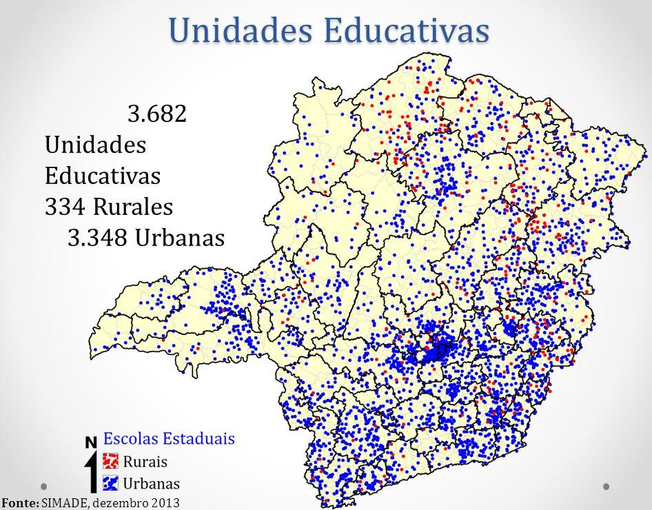 Unidades Educativas 3.682 Unidades Educativas 334 Rurales