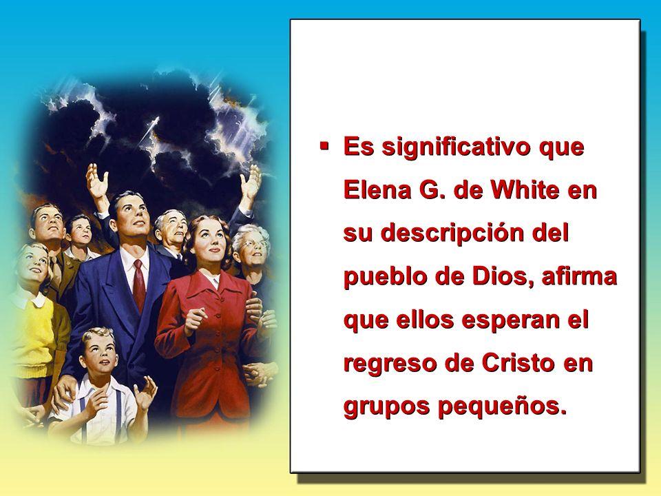 Es significativo que Elena G