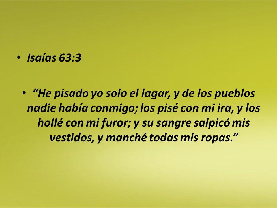 Isaías 63:3