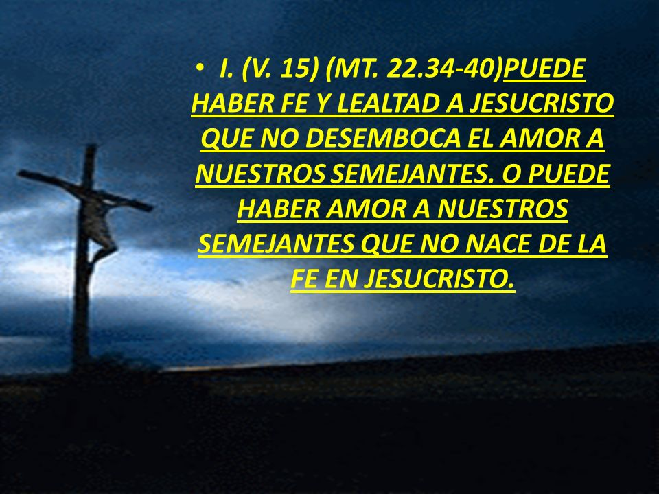 I. (V. 15) (MT.