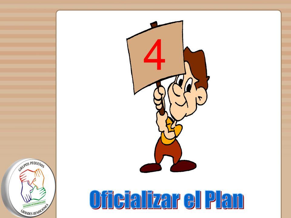 4 Oficializar el Plan