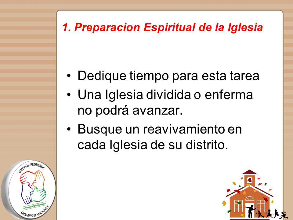 1. Preparacion Espiritual de la Iglesia