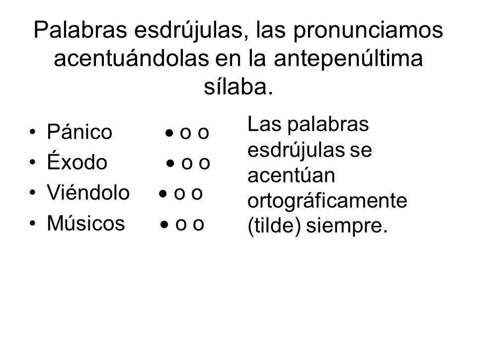 Acentuaci n la s laba clasificaci n de las palabras seg n for Oraciones con la palabra beta