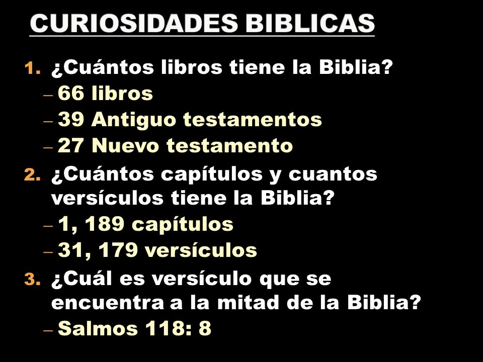 CURIOSIDADES BIBLICAS