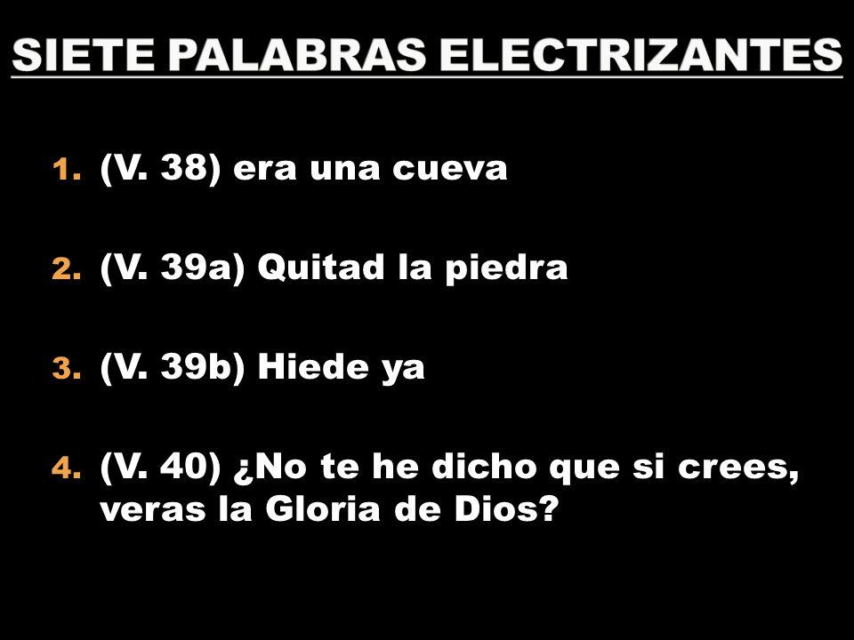 SIETE PALABRAS ELECTRIZANTES