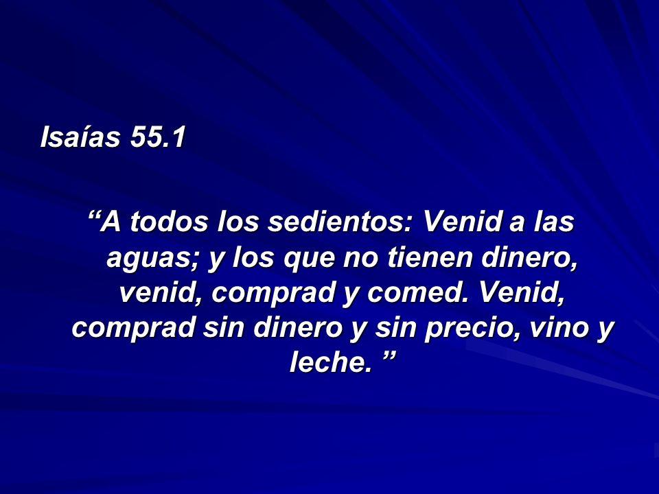 Isaías 55.1