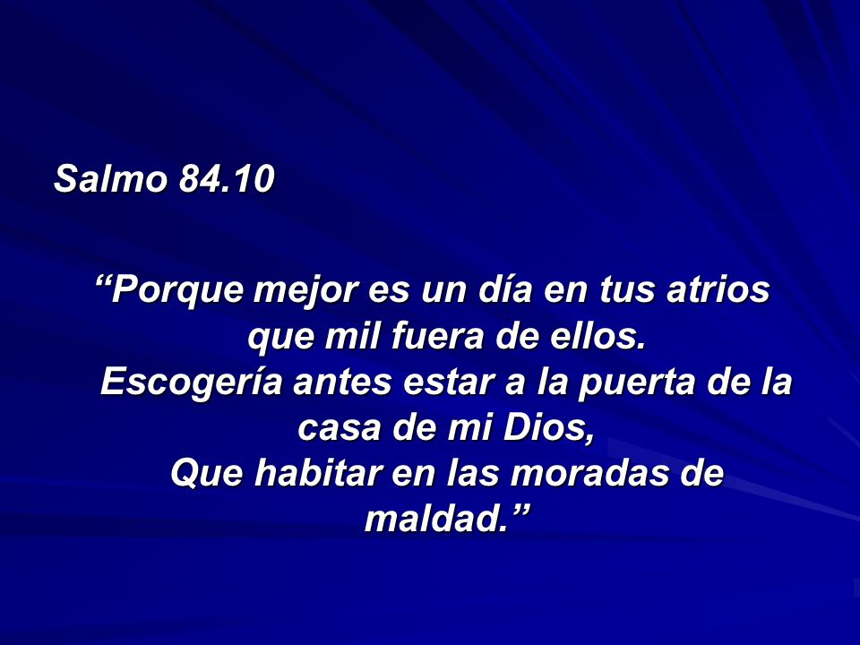 Salmo 84.10