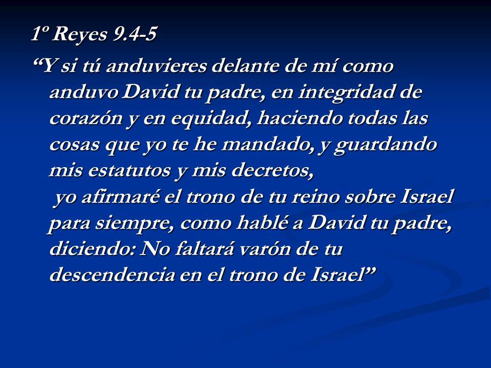 1º Reyes 9.4-5