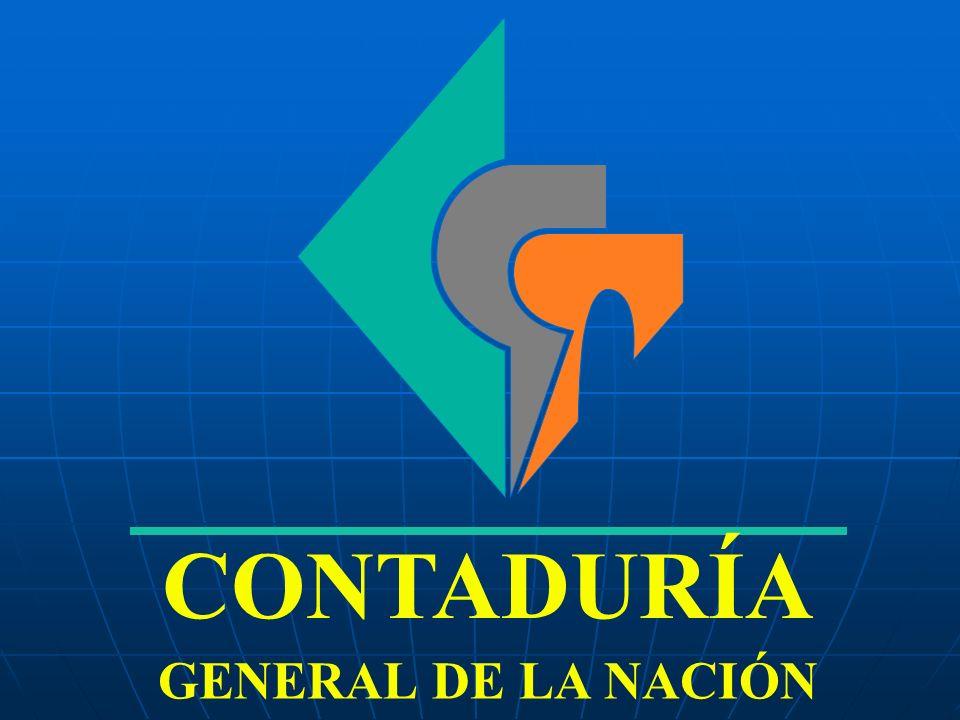 CONTADURÍA GENERAL DE LA NACIÓN