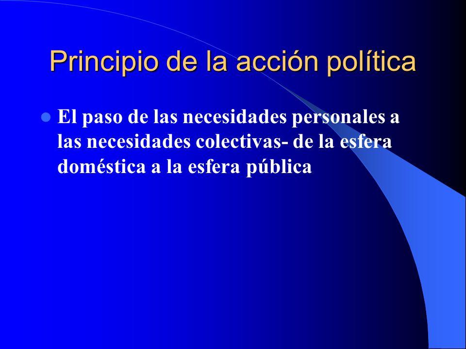 Principio de la acción política