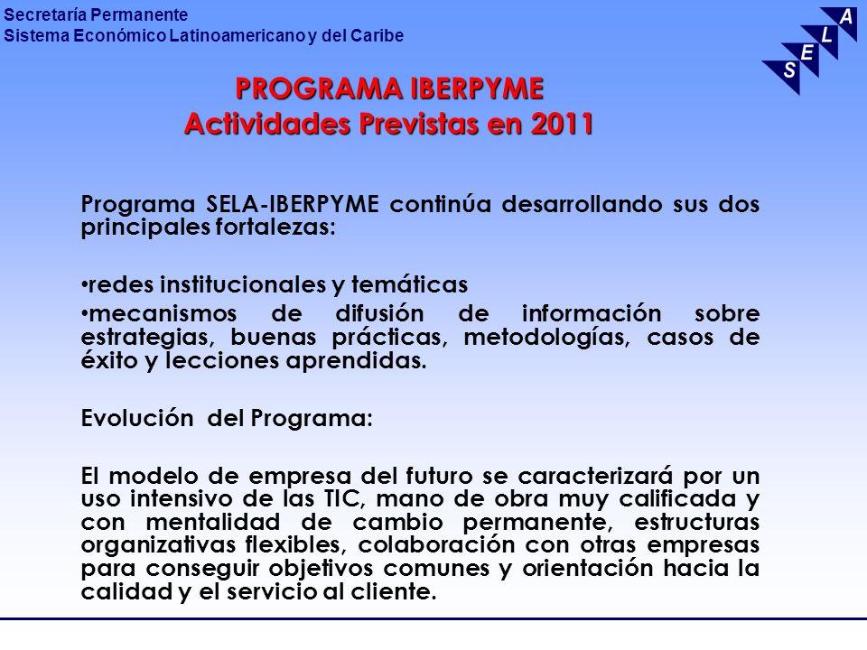 Actividades Previstas en 2011
