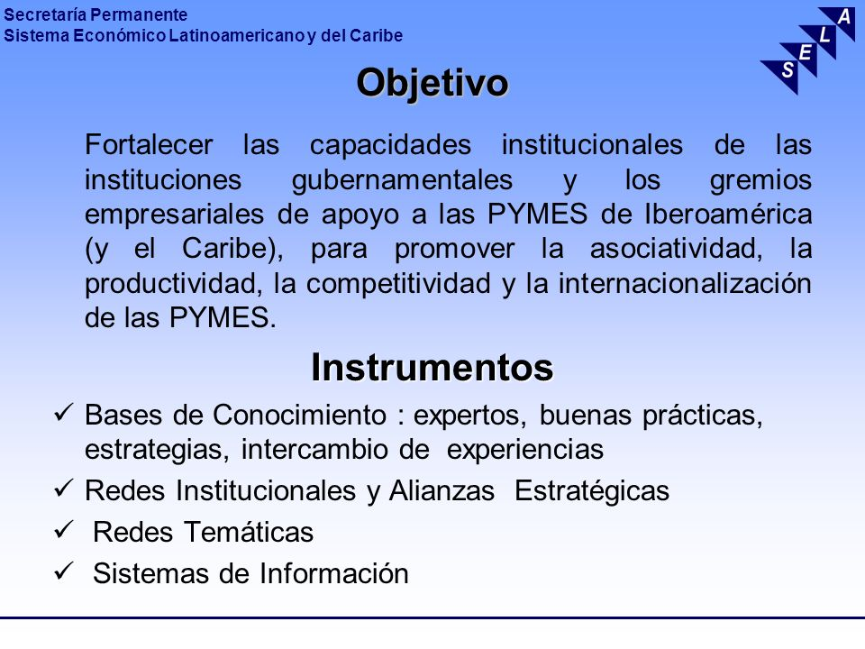 Objetivo Instrumentos