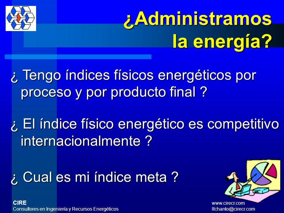 ¿Administramos la energía