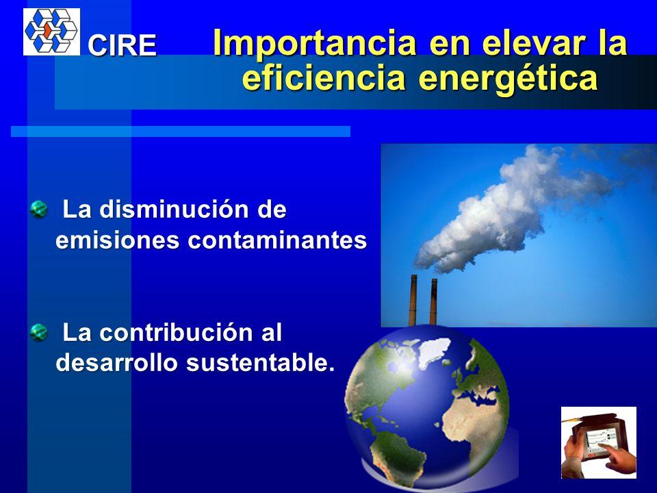 Importancia en elevar la eficiencia energética