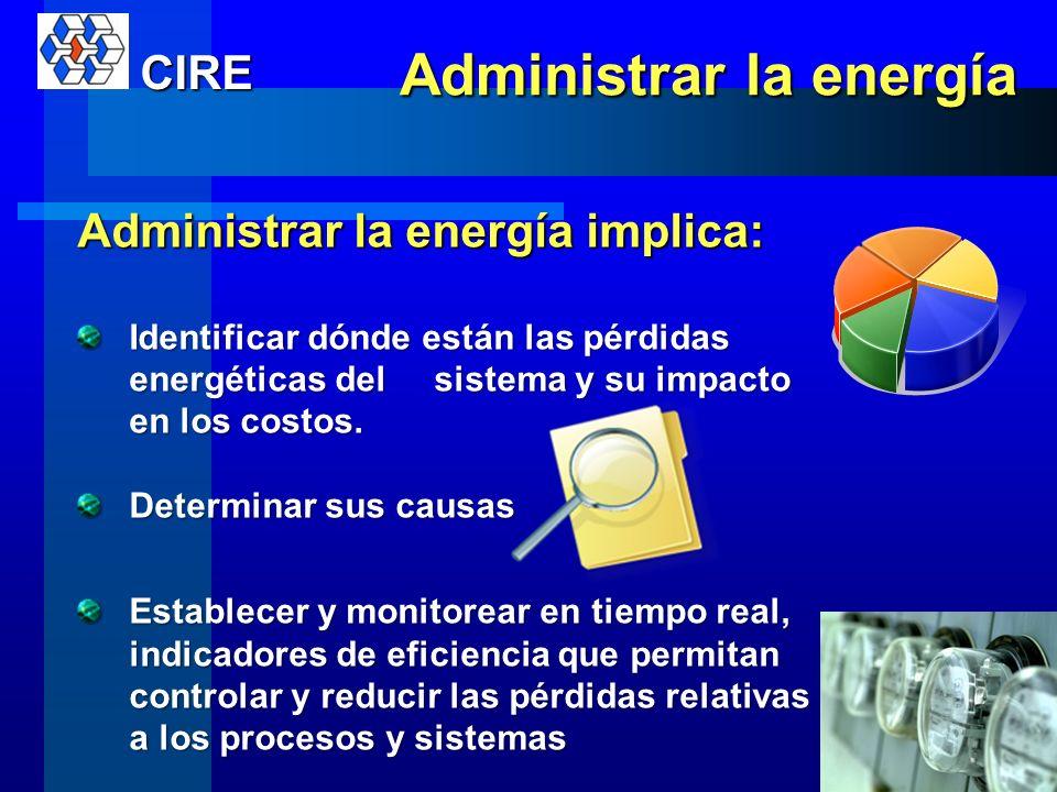 Administrar la energía