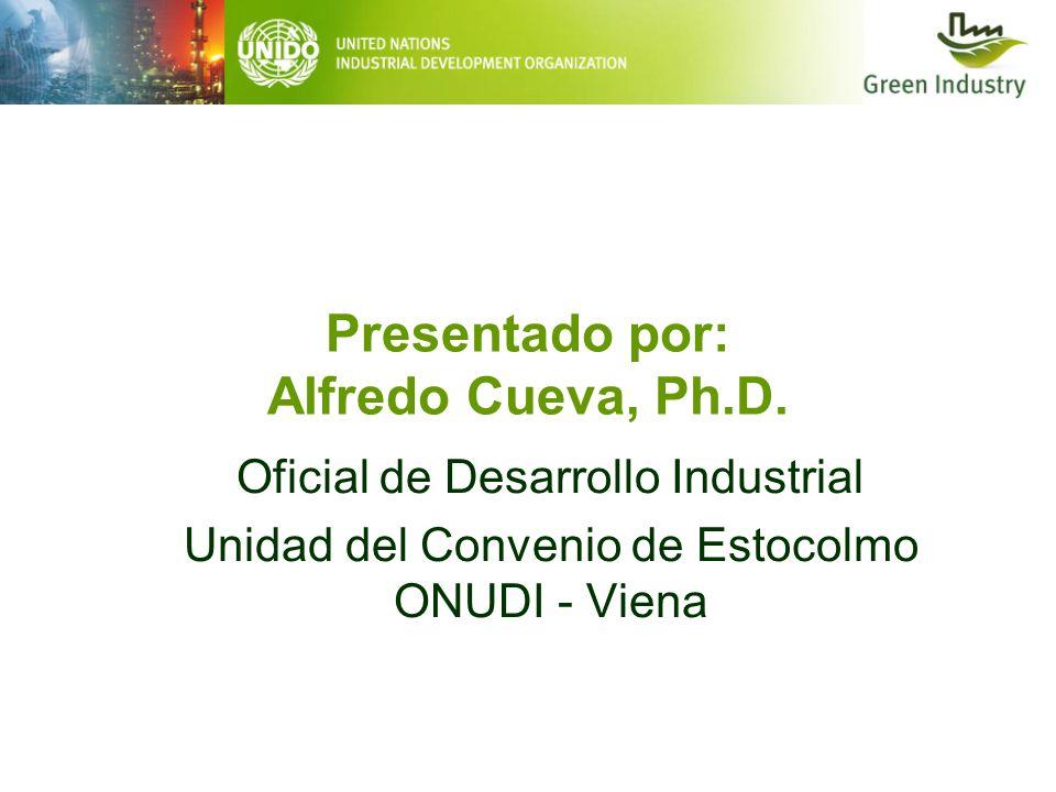Presentado por: Alfredo Cueva, Ph.D.