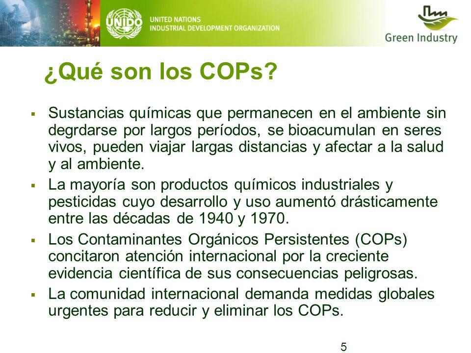 ¿Qué son los COPs
