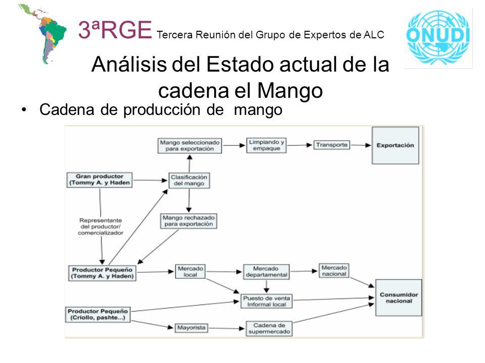 Análisis del Estado actual de la cadena el Mango
