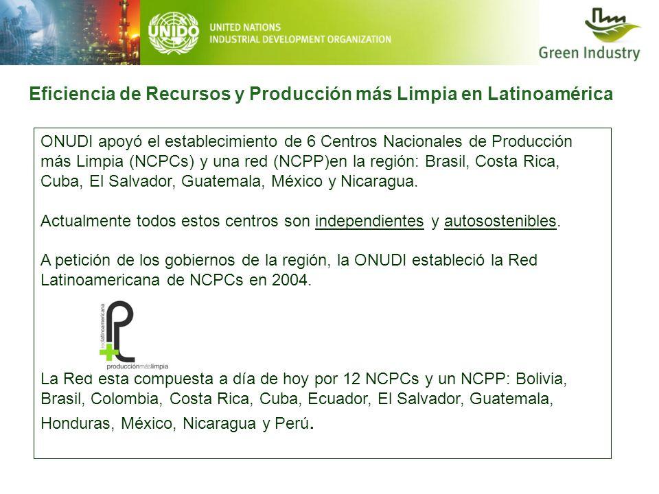 Eficiencia de Recursos y Producción más Limpia en Latinoamérica