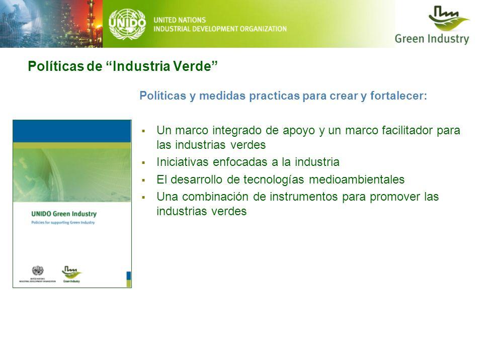 Políticas de Industria Verde