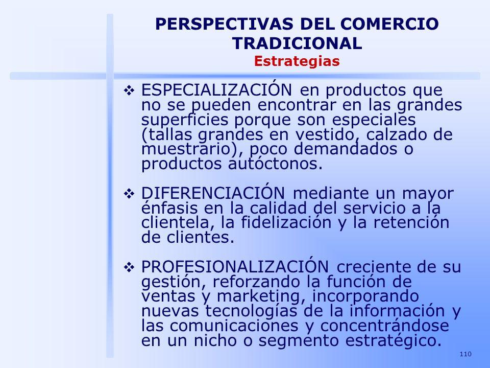 PERSPECTIVAS DEL COMERCIO TRADICIONAL Estrategias