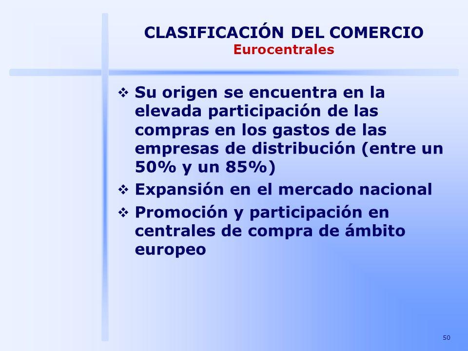 CLASIFICACIÓN DEL COMERCIO Eurocentrales