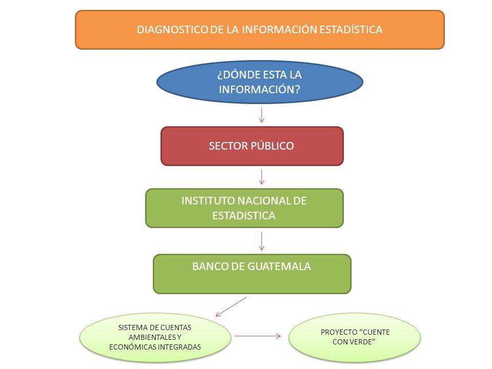 DIAGNOSTICO DE LA INFORMACIÓN ESTADÍSTICA