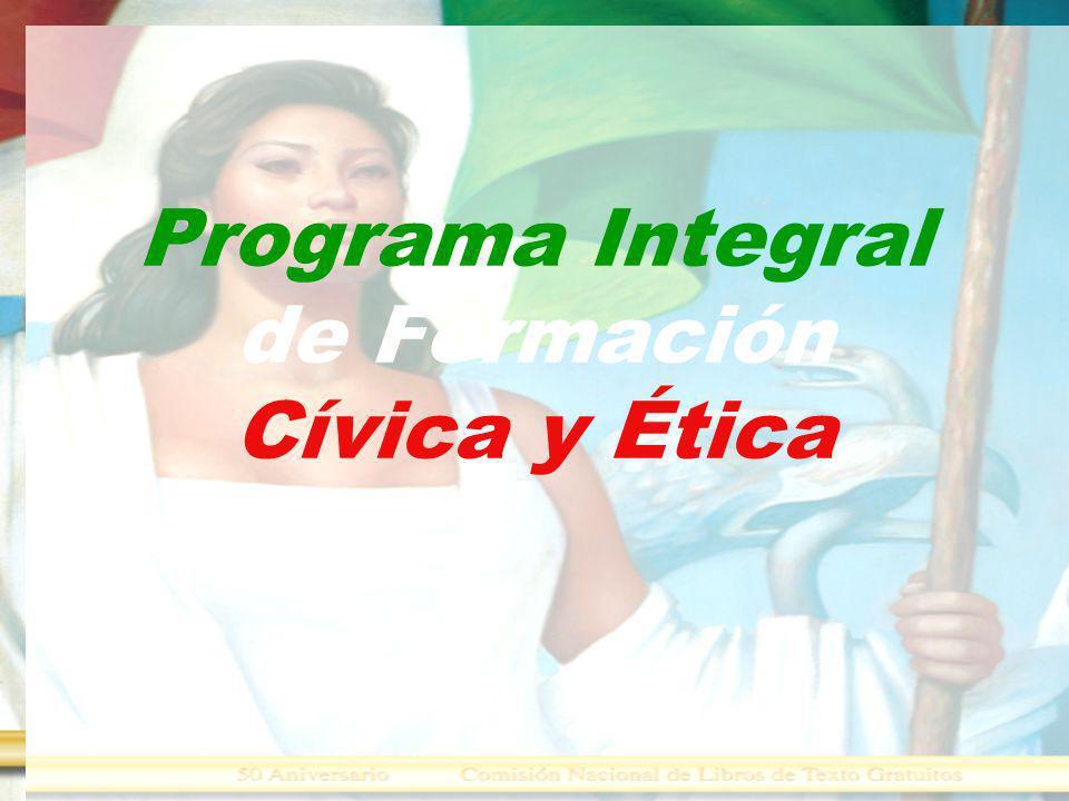 Programa Integral de Formación Cívica y Ética
