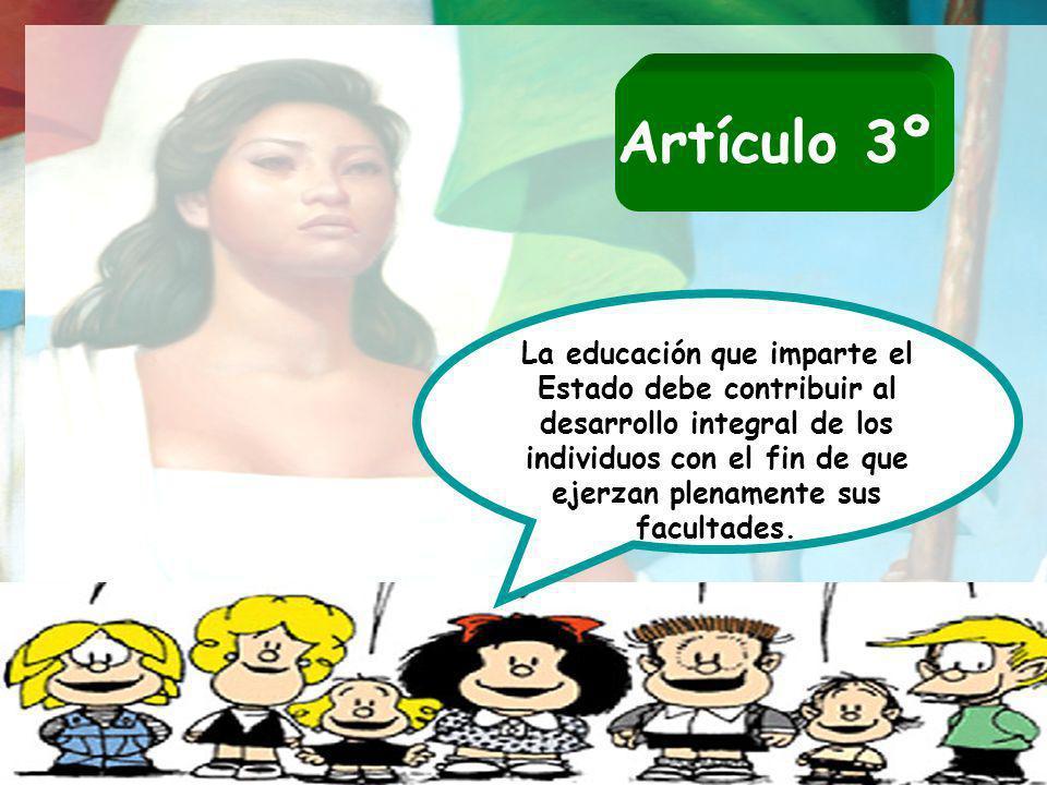 Artículo 3º