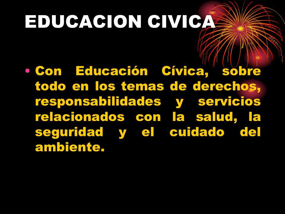 EDUCACION CIVICA