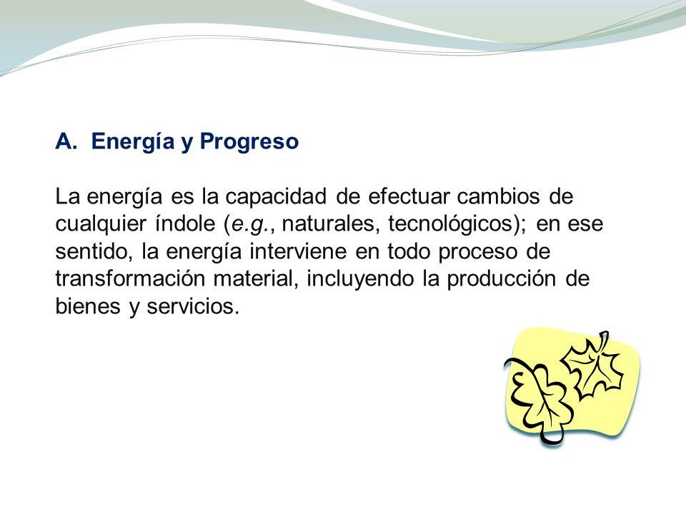 A. Energía y Progreso