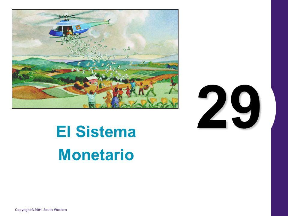 29 El Sistema Monetario