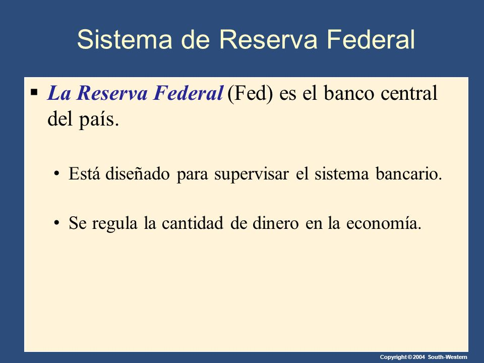Sistema de Reserva Federal