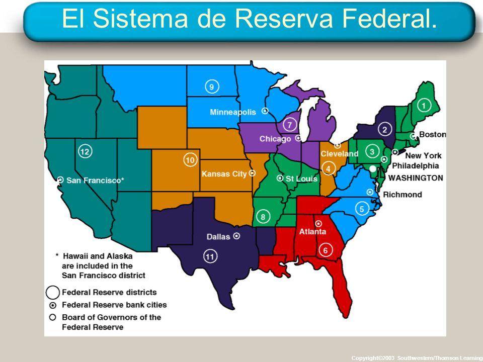 El Sistema de Reserva Federal.