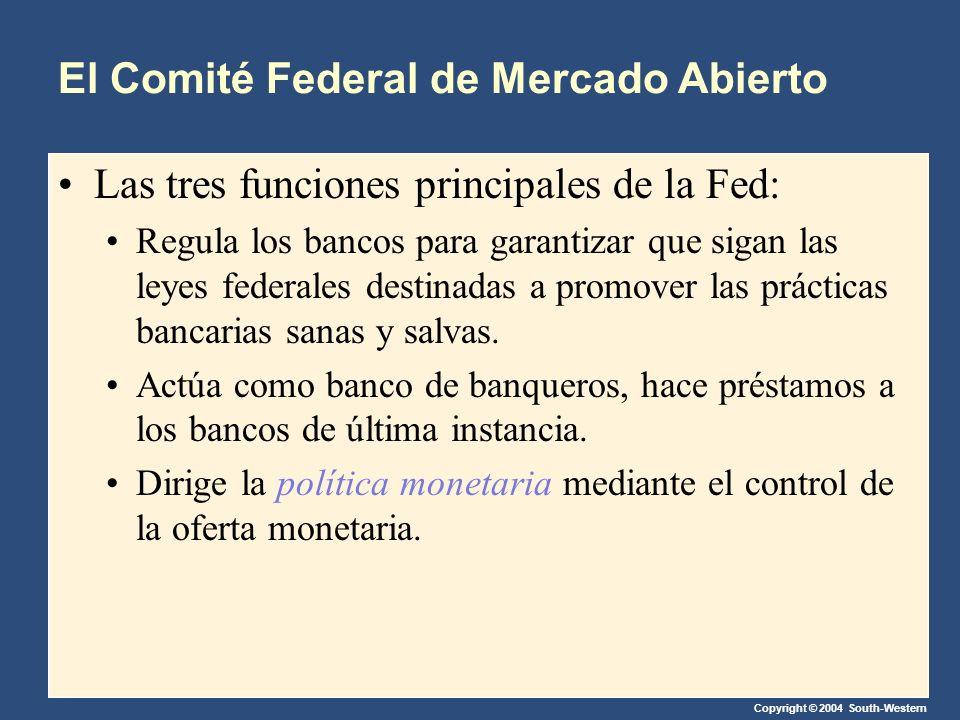 El Comité Federal de Mercado Abierto