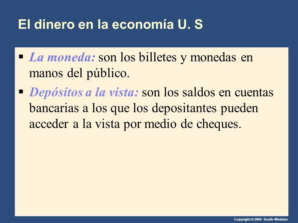 El dinero en la economía U. S