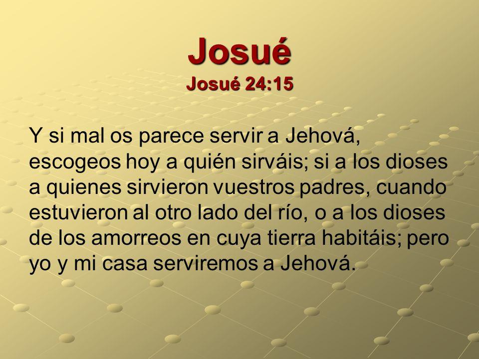 Josué Josué 24:15