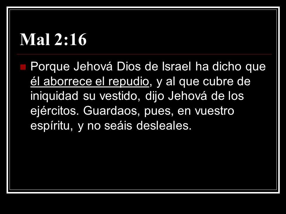 Mal 2:16