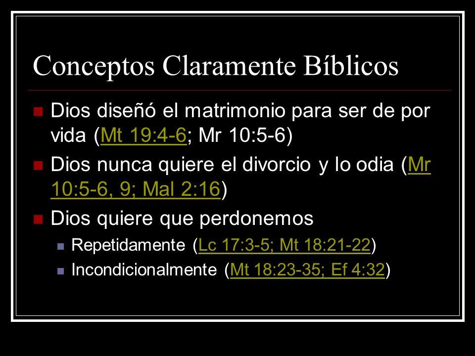 Conceptos Claramente Bíblicos