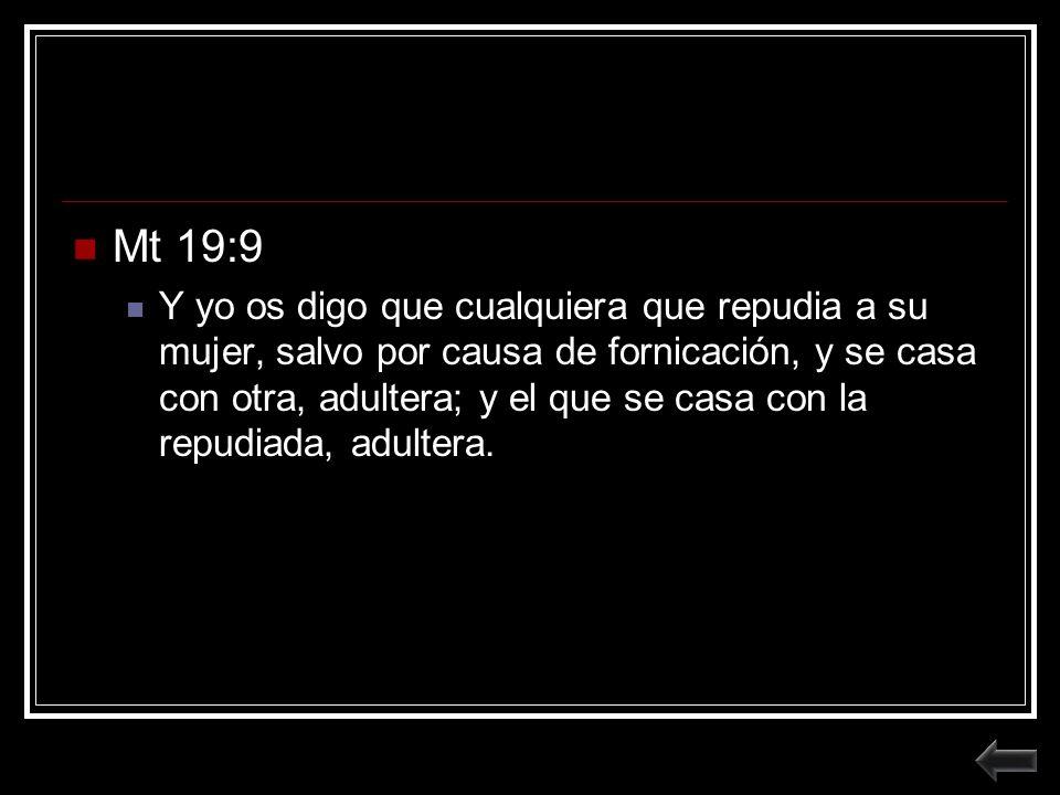 Mt 19:9