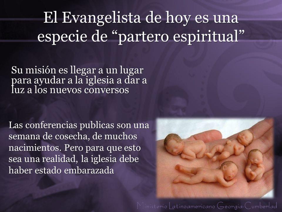 El Evangelista de hoy es una especie de partero espiritual
