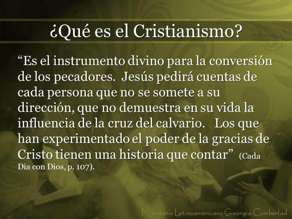 ¿Qué es el Cristianismo