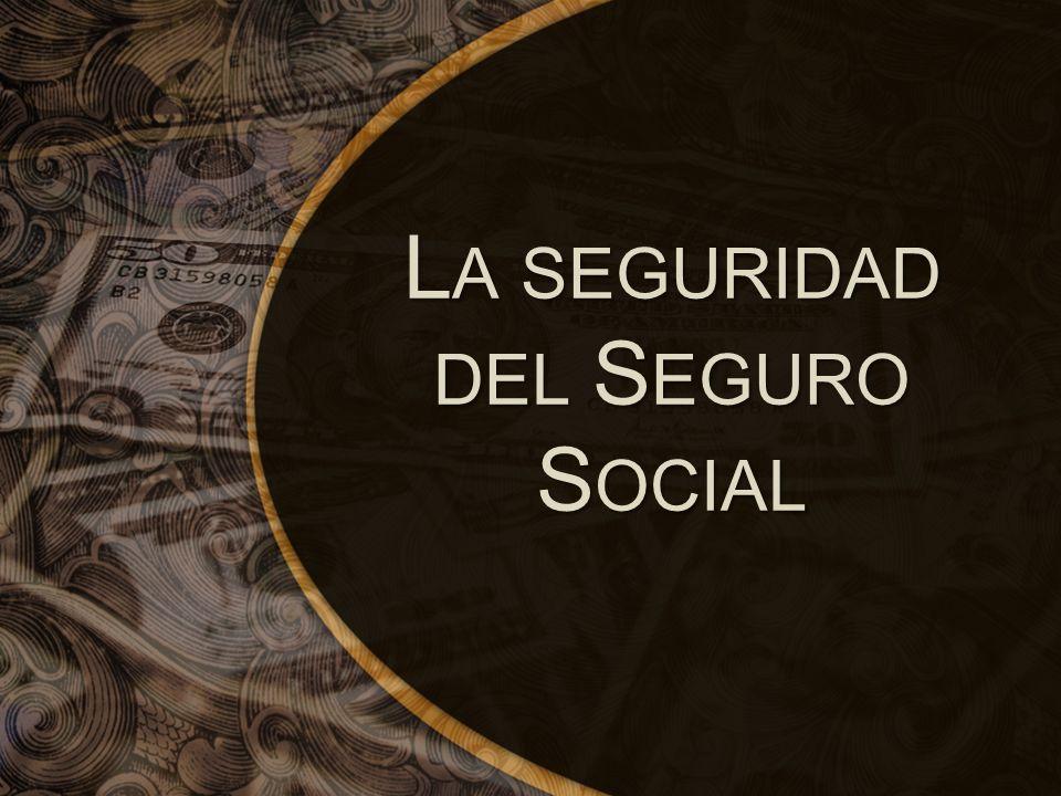 La seguridad del Seguro Social