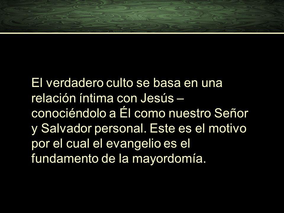 El verdadero culto se basa en una relación íntima con Jesús – conociéndolo a Él como nuestro Señor y Salvador personal.