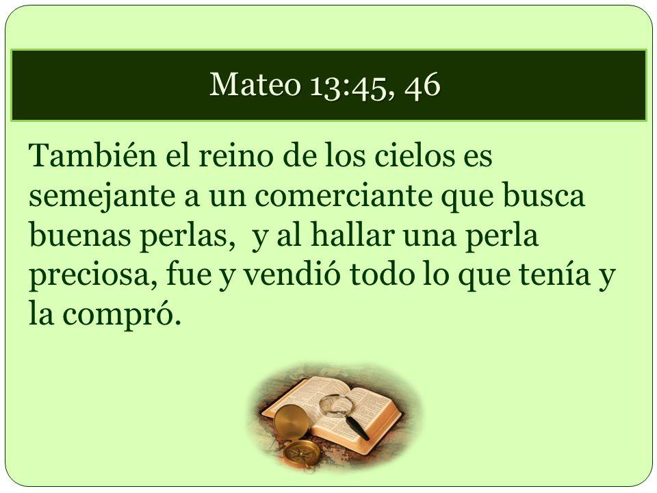 Mateo 13:45, 46