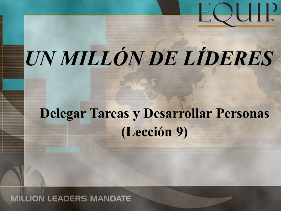 Delegar Tareas y Desarrollar Personas