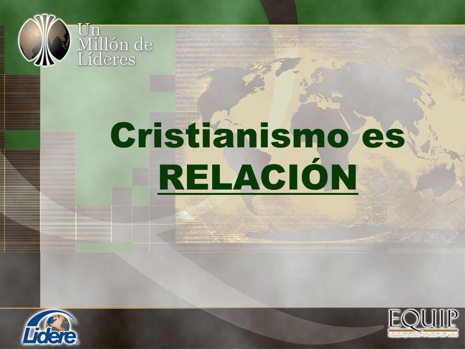 Cristianismo es RELACIÓN