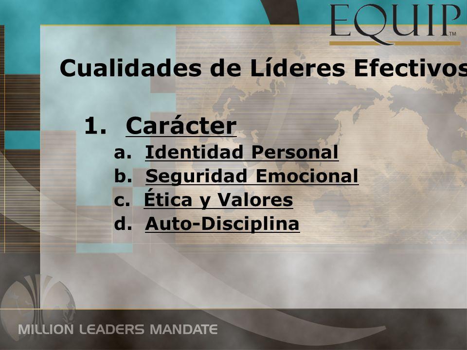 Cualidades de Líderes Efectivos