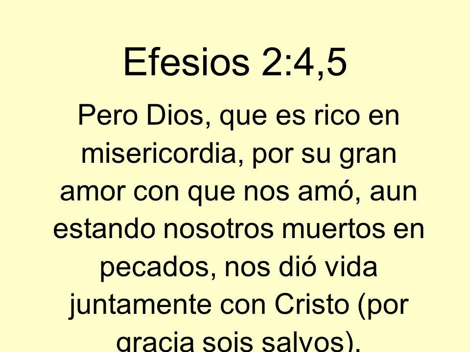 Efesios 2:4,5